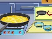 Show de Cocina - Omelette de Queso