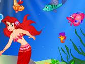 DISNEY - LITTLE MERMAID DRESSUP