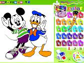 PAINT MICKEY AND DONALD